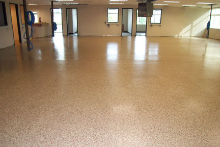governmental epoxy flooring contracts